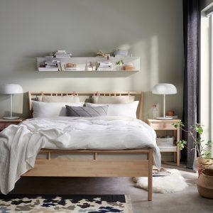 IKEA - BJÖRKSNÄS Bedframe - 180x200 cm - Berken