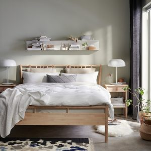IKEA - BJÖRKSNÄS Bedframe - 160x200 cm - Berken
