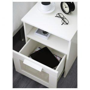 IKEA - BRIMNES Nachtkastje - 39x41 cm - Wit