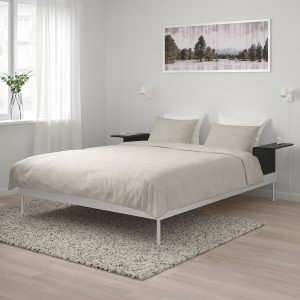 IKEA - DELAKTIG Bedframe met 2 tafeltjes