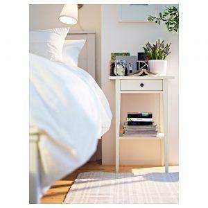IKEA - HEMNES Nachtkastje - 46x35 cm - Wit