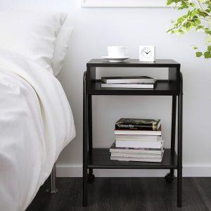 IKEA - SETSKOG Nachtkastje - 45x35 cm - Zwart