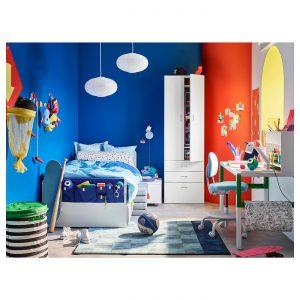 IKEA - SLÄKT Bedframe met lattenbodem - 90x200 cm - Wit