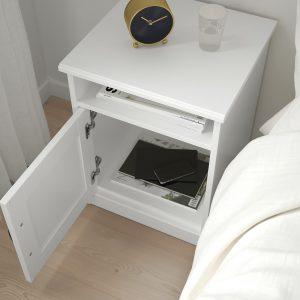 IKEA - SONGESAND Nachtkastje - 42x40 cm - Wit