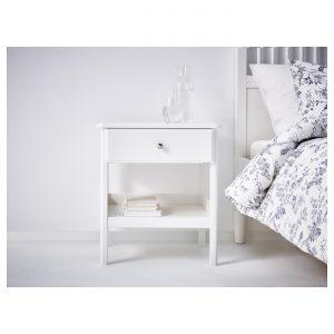IKEA - TYSSEDAL Nachtkastje - 51x40 cm - Wit